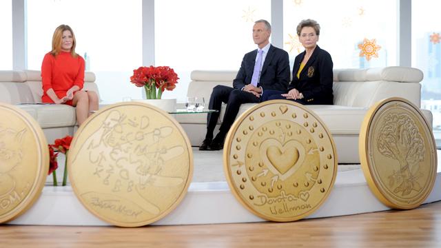Anna Maruszeczko, Bożena Walter, Grzegorz Zambrzycki i dukaty